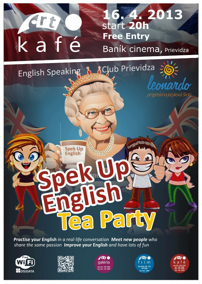 Speak Up - English Tea Party